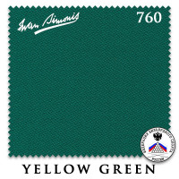 Сукно Iwan Simonis 760 195см Yellow Green 60М