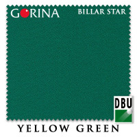 Сукно Gorina Billar Star 197см Yellow Green 60М