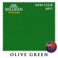 Сукно Milliken Strachan Snooker 6811Club 196см Olive Green